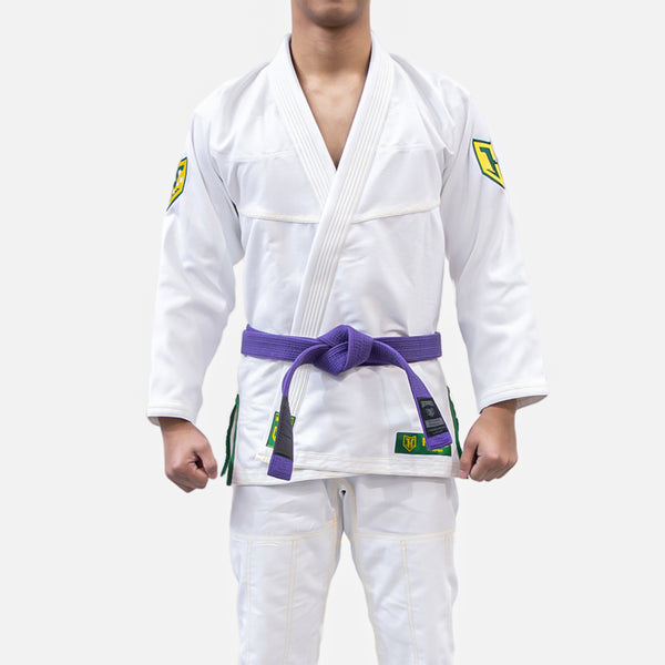 PRO LIGHT - GREEN & GOLD - LIMITED EDITION BJJ GI