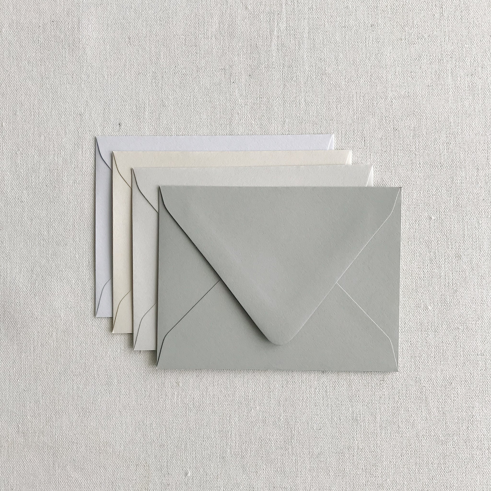 A2 Envelopes - Mixed Grey Set
