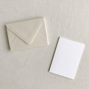 "3.5""x5"" Card + Envelope Set - Mist"