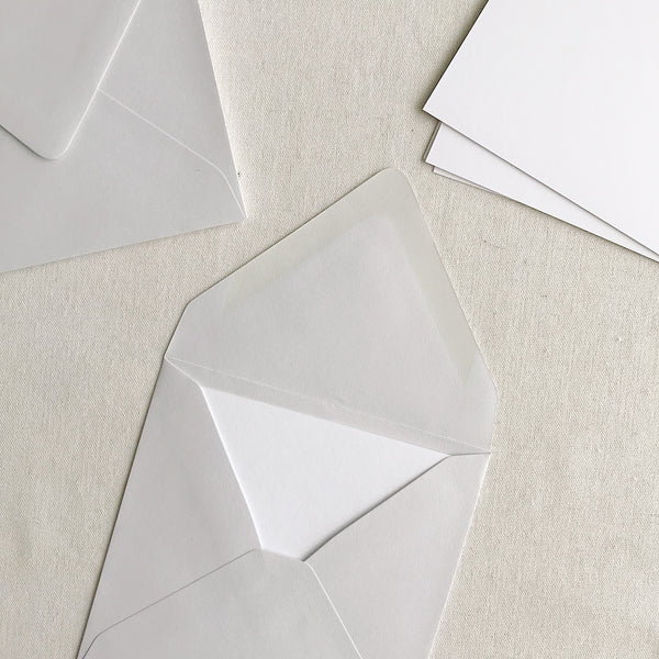 "6""x6"" Card + Envelope Set - Cool Grey"