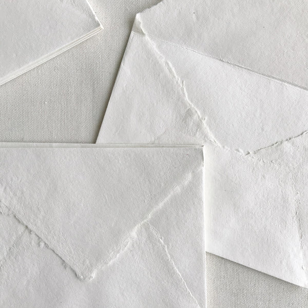 "Idyll Paper 5x7"" Envelopes - Off White"