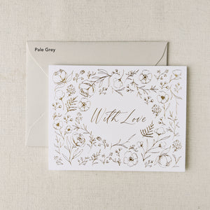 With Love Card Set - 5pk