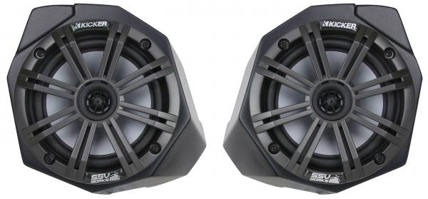 "Can Am X3 Kick Panel Enclosures for 6.5"" Speaker by SSV Works - Unloaded"