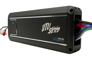 UTV Stereo Signature Series 4 Channel Amplifier UTVS125.4D