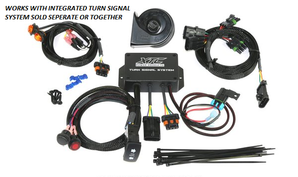 Can Am X3 Front Turn Signature Light Set