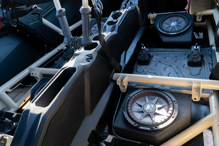 Can-Am X3 Passenger Side Rear Sub Box Enclosures (2019+)