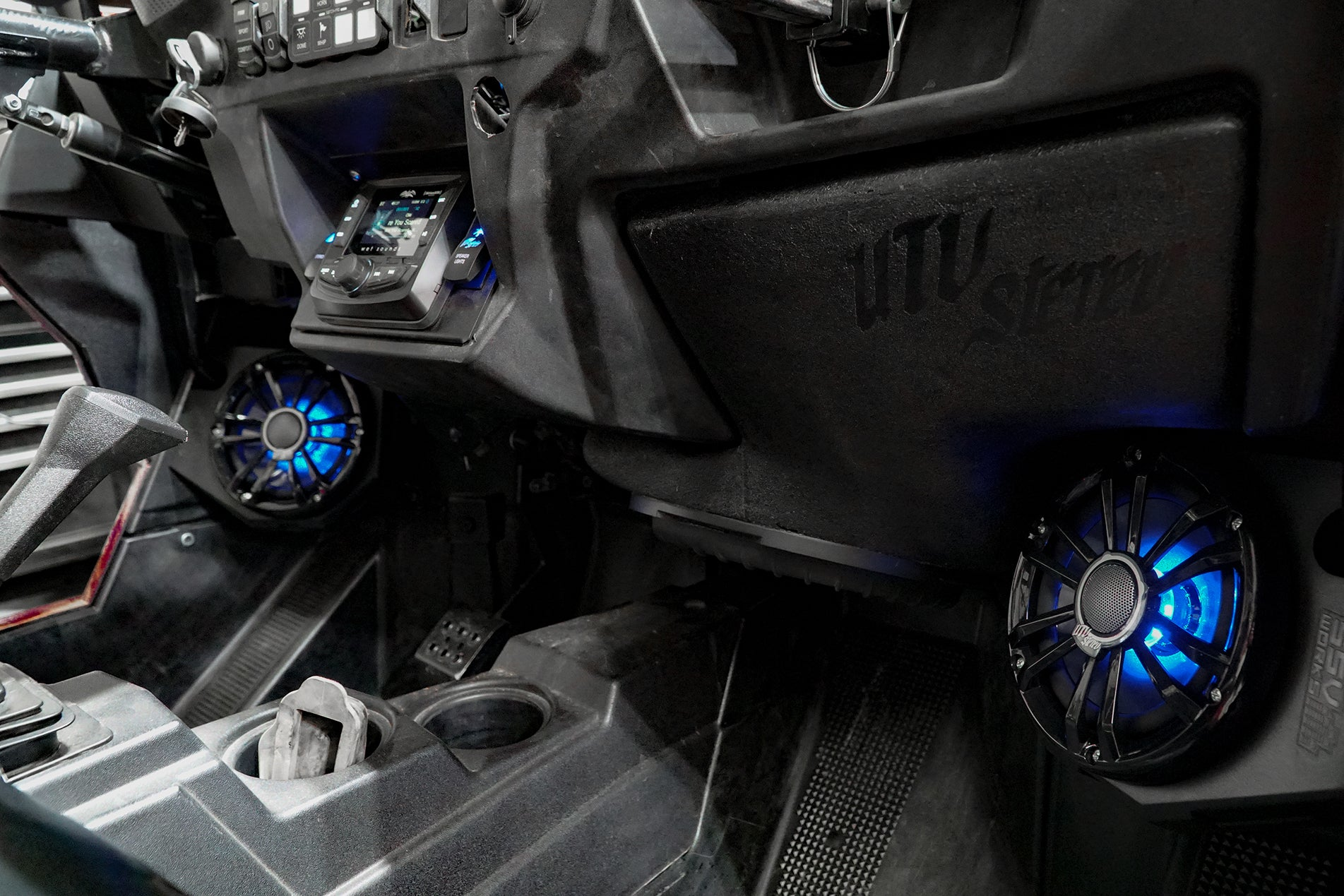 Polaris RZR Ride Command UTV Stereo Stage 7 Stereo System