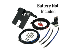 Can-Am X3 2nd Battery Kit (Wire Kit & Battery Mount Only)