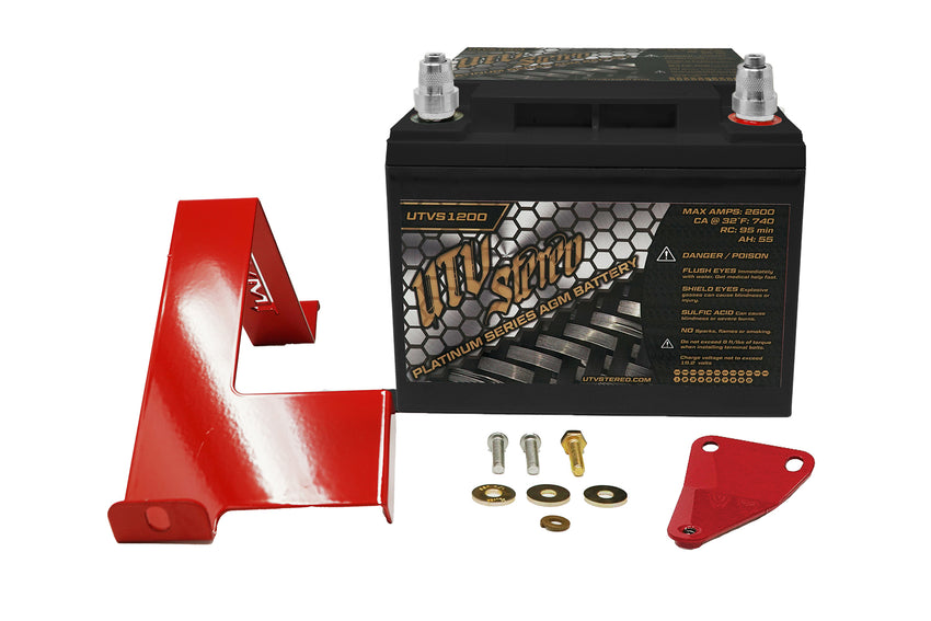 Can-Am X3 BIG Battery Kit