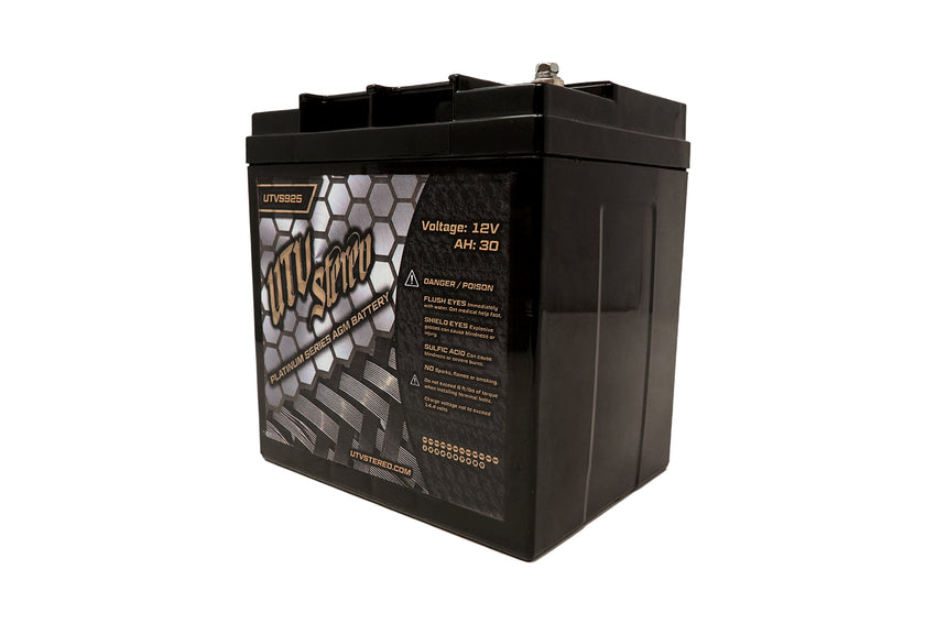 UTVS925 UTV Stereo Platinum Series AGM Battery