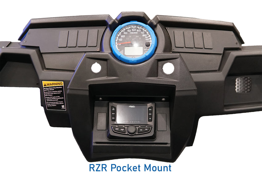 Polaris RZR Pocket Mount (Head Unit)