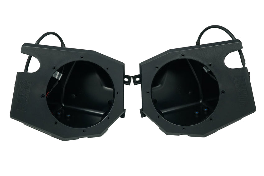 "Polaris RZR 6.5"" Kick Panel Speaker Enclosures"