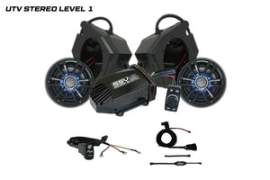 Polaris RZR UTV Stereo Level 1 Stereo System