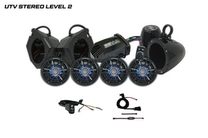 Polaris RZR UTV Stereo Level 2 Stereo System