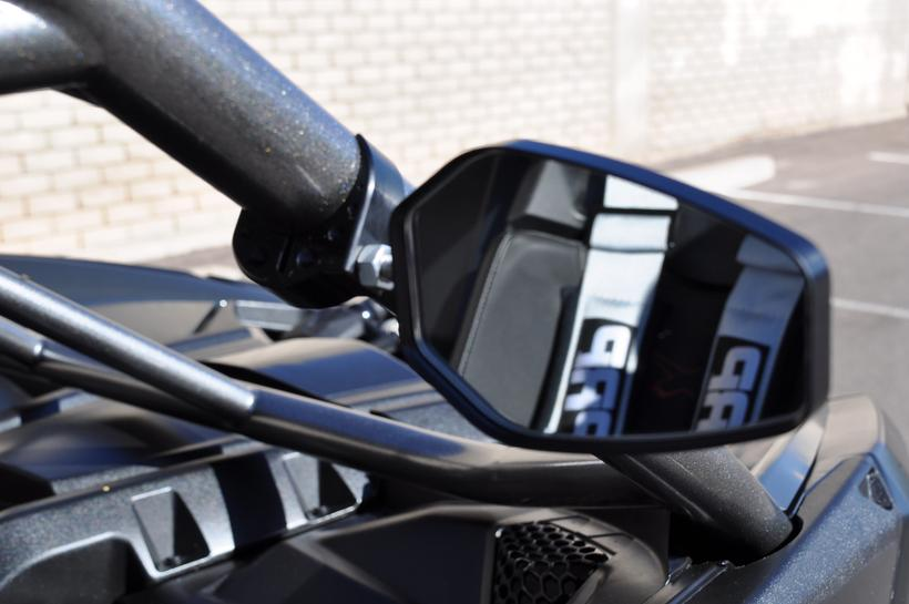 "Polaris RZR Billet Equipped Side Mirrors (1.75"" Clamp Size)"
