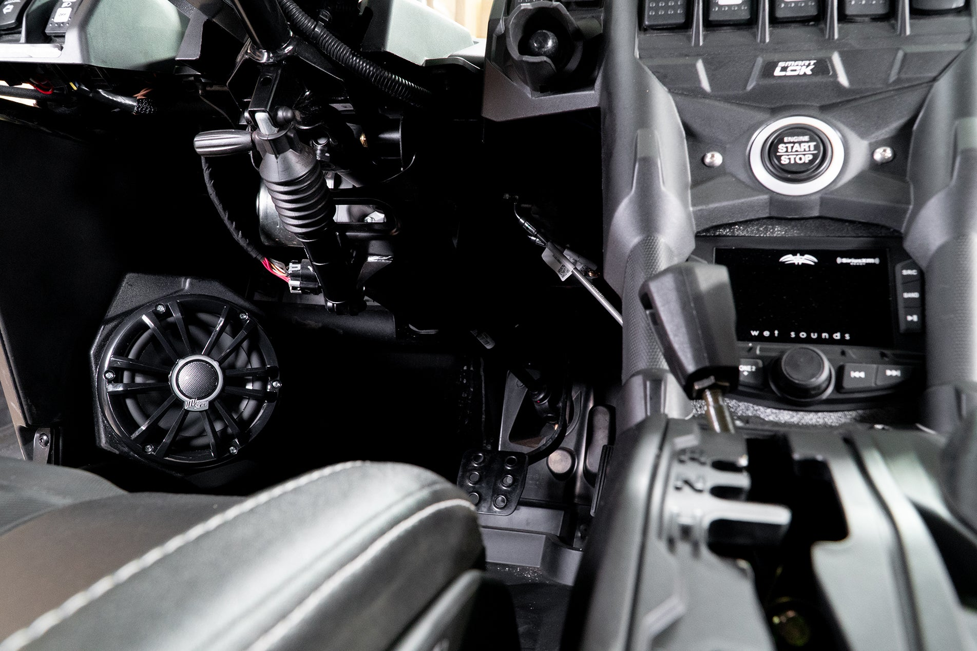 Can-Am X3 UTV Stereo Stage 7 Stereo System