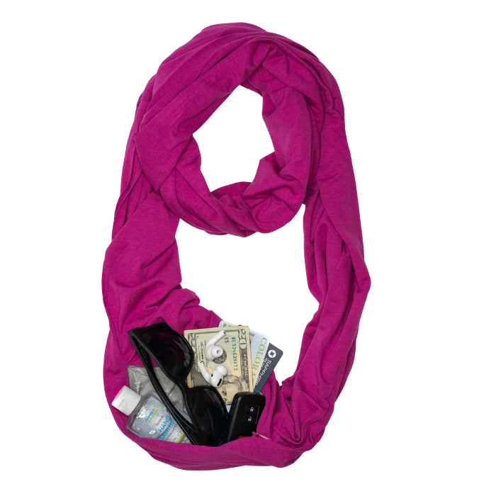 Travel Scarf // Iris