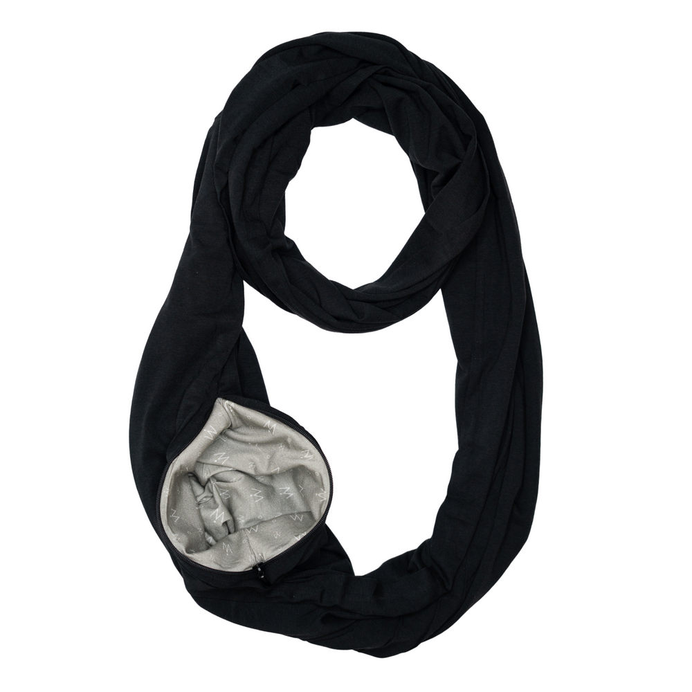Travel Scarf // Carbon