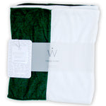 STADIUM Series Travel Scarf // Green & White