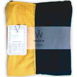 STADIUM Series Travel Scarf // Navy & Yellow