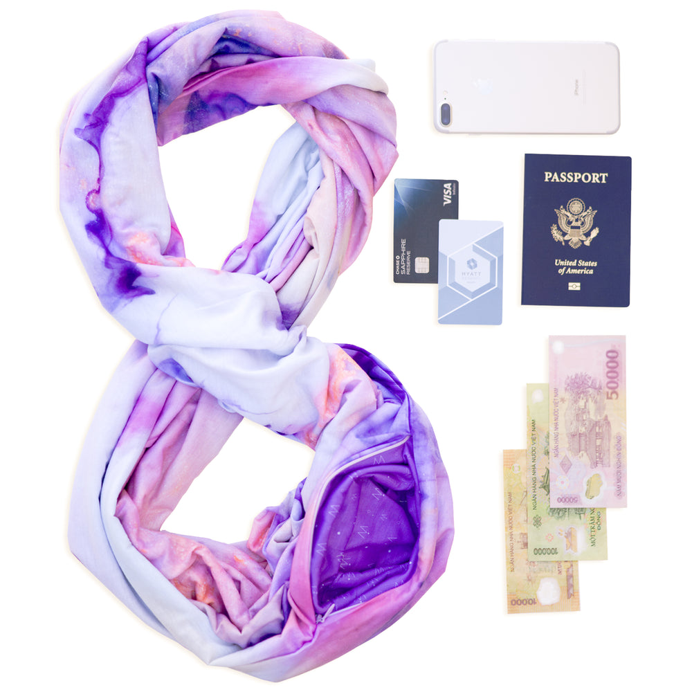 Limited Edition TRAVEL SCARF // Featured Artist Series - Annie Denison // Dream