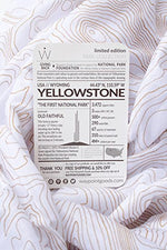 Limited Edition TRAVEL SCARF // Park Series // Yellowstone National Park