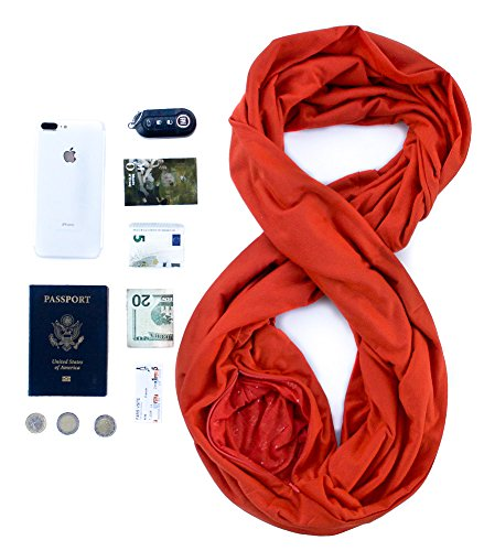 TRAVEL SCARF // Pumpkin