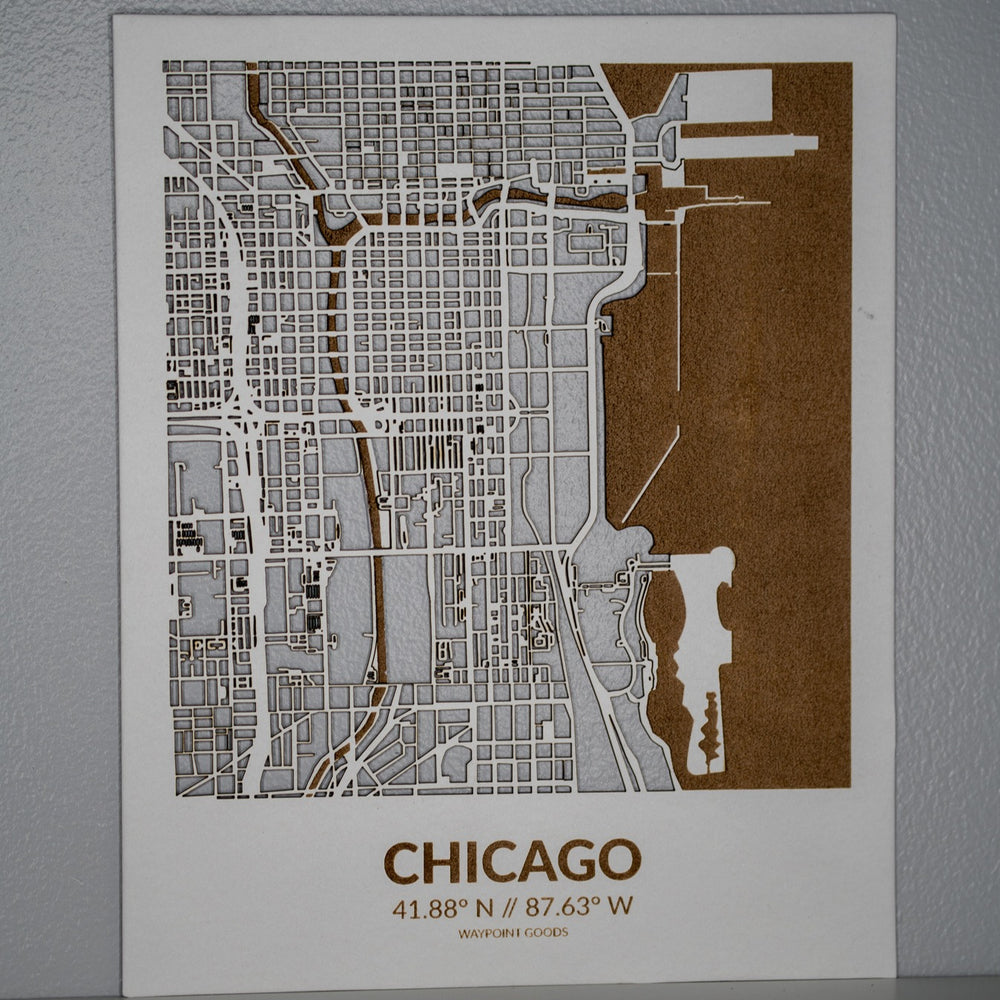 CHICAGO // City Map
