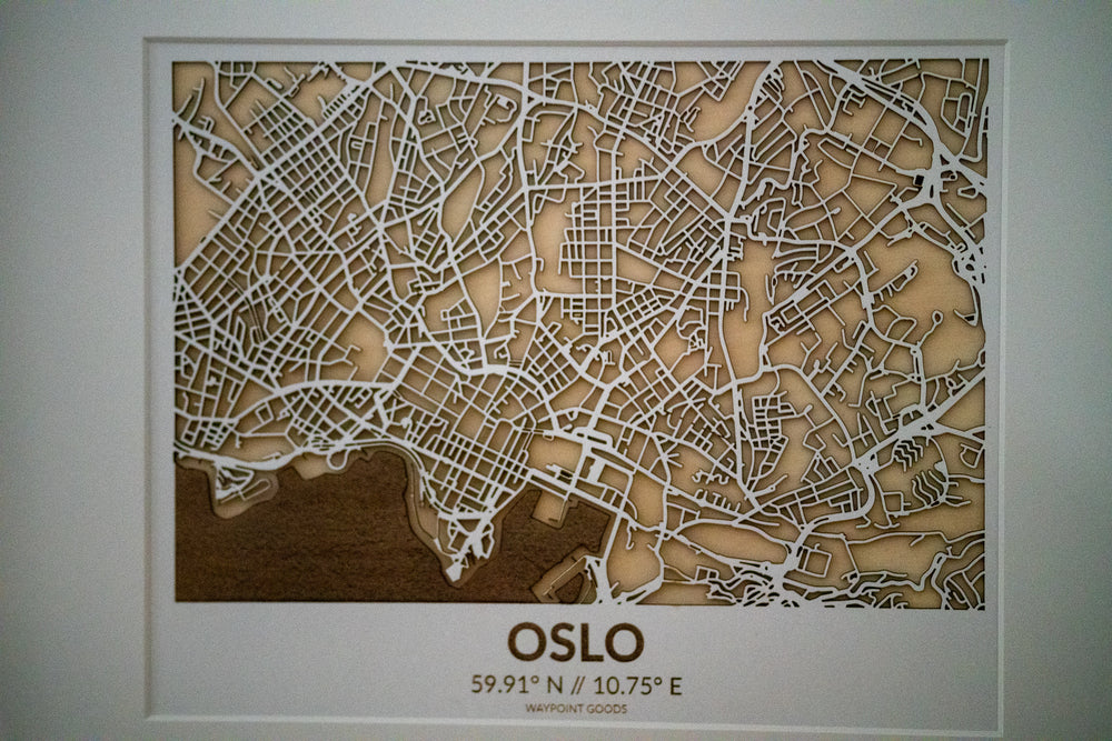 OSLO // City Map