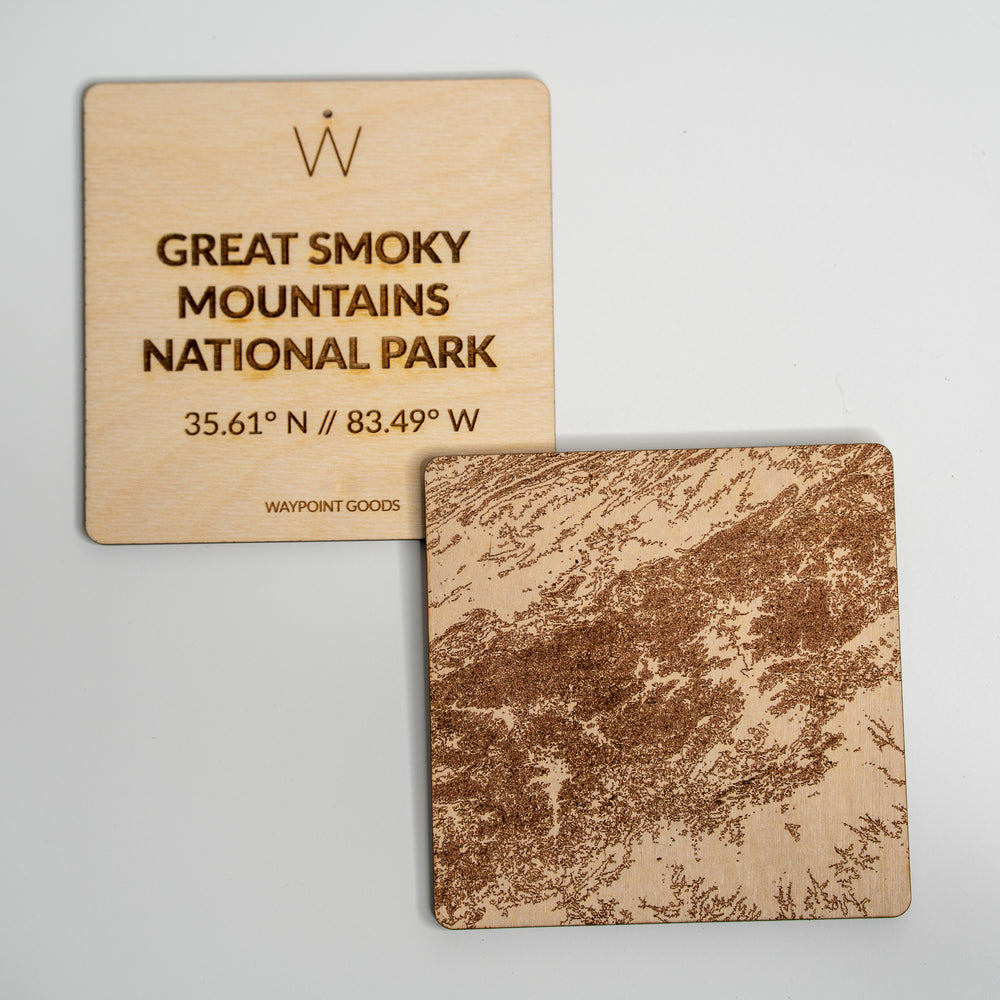 GREAT SMOKY MOUNTAINS National Park Coaster