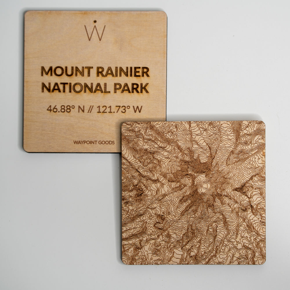 MOUNT RAINIER National Park Coaster