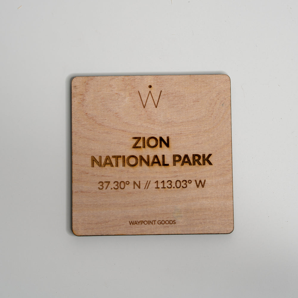 ZION National Park Coaster