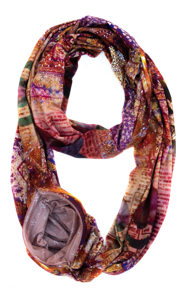 Limited Edition TRAVEL SCARF // Featured Artist Series - alison ᐤ jane // Jasmine & Jain