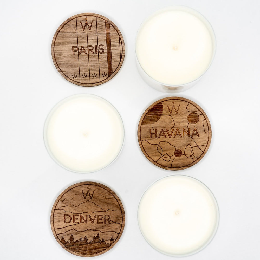 Waypoint Candles // Entire Collection (Havana, Denver & Paris)