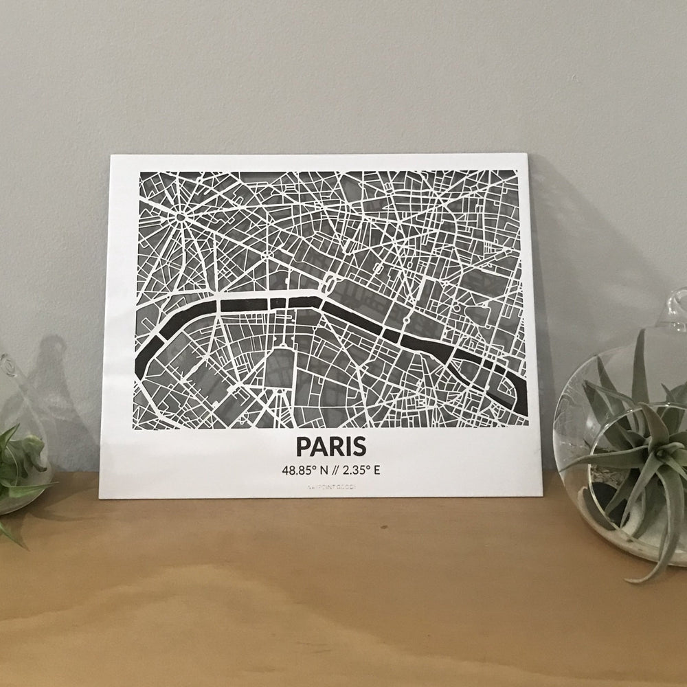 PARIS // City Map