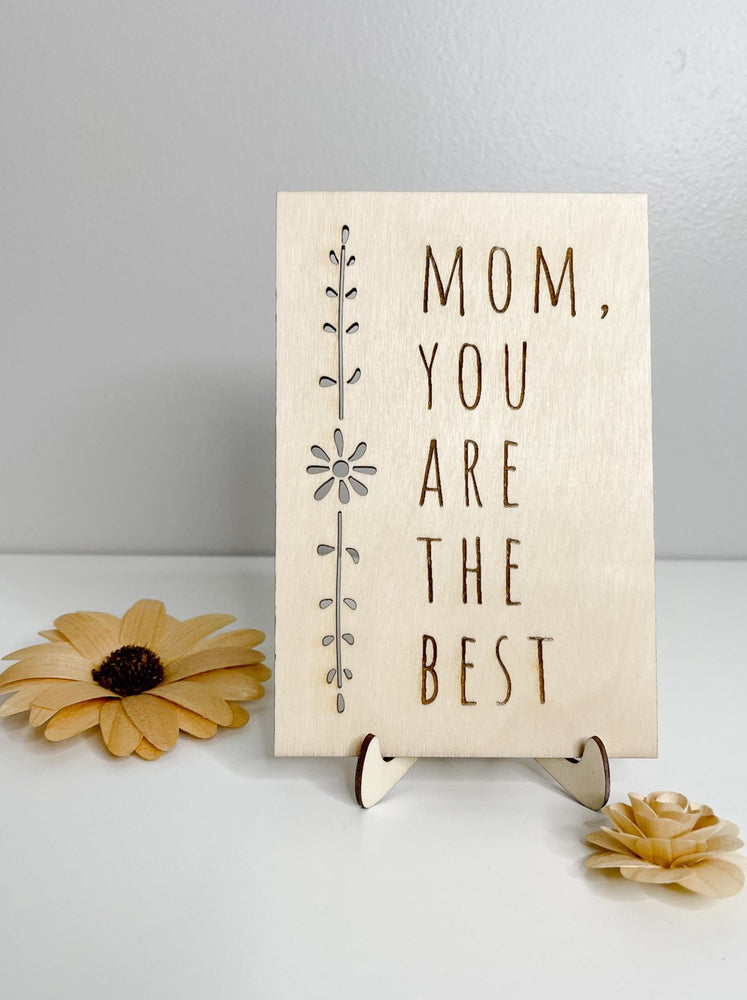 Mother's Day Card // Mom You Are The Best