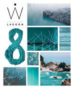 TRAVEL SCARF // Lagoon