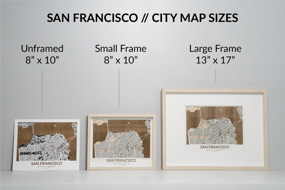 SAN FRANCISCO // City Map