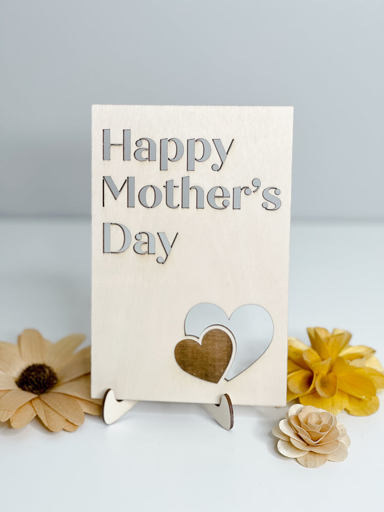 Mother's Day Card // Happy Mother's Day + Hearts