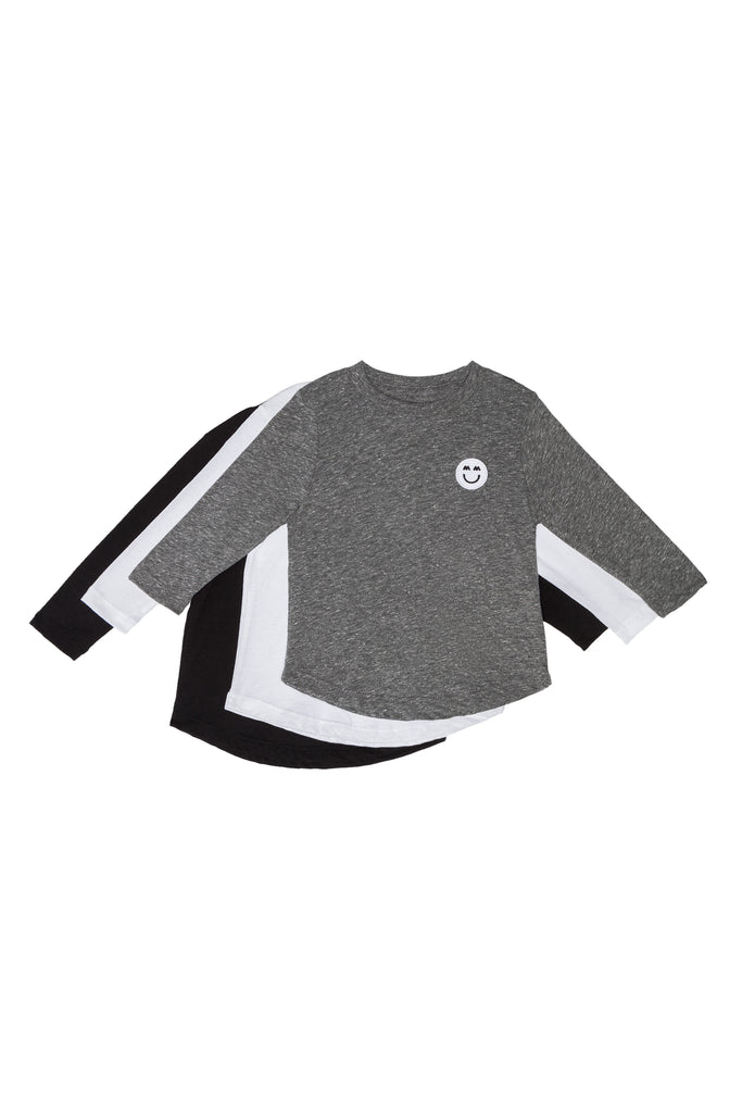 LONG SLEEVE SIGNATURE PATCH TEE