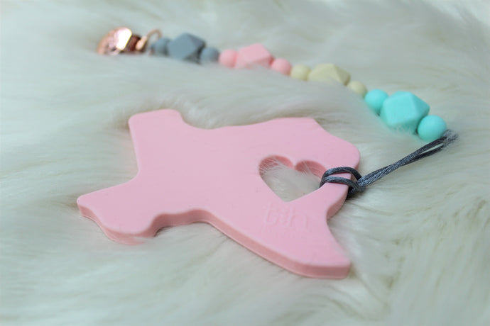 TH ORIGINAL TEXAS -  BPA Free Food Grade Silicone Teether