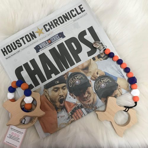 LIMITED EDITION Astros Paci/Toy clip