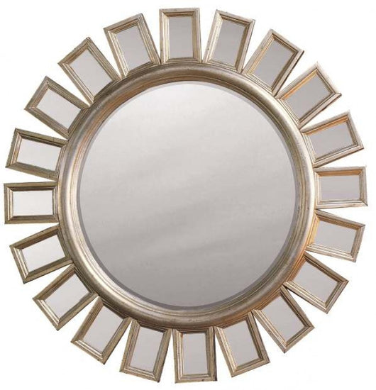 Mirror paneled frame
