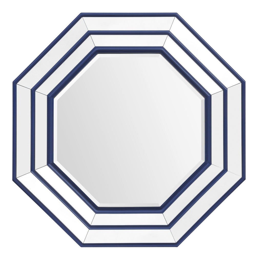 Nautical Style Octagonal Mirror