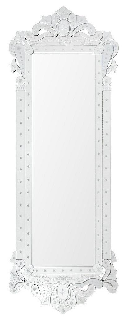 Embellished frame mirror