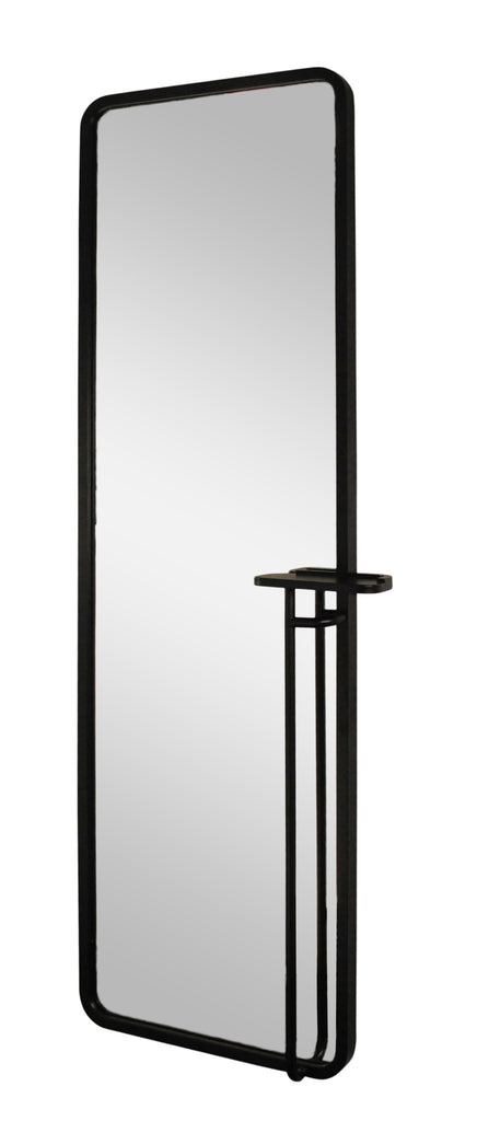 mirror with metal tube frame