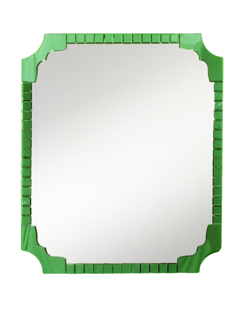 Green colored mirror