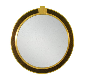 Art deco style vanity mirror with antique mirror inside