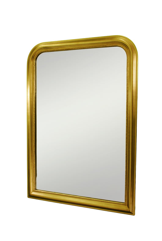 Mirror with decorative profile