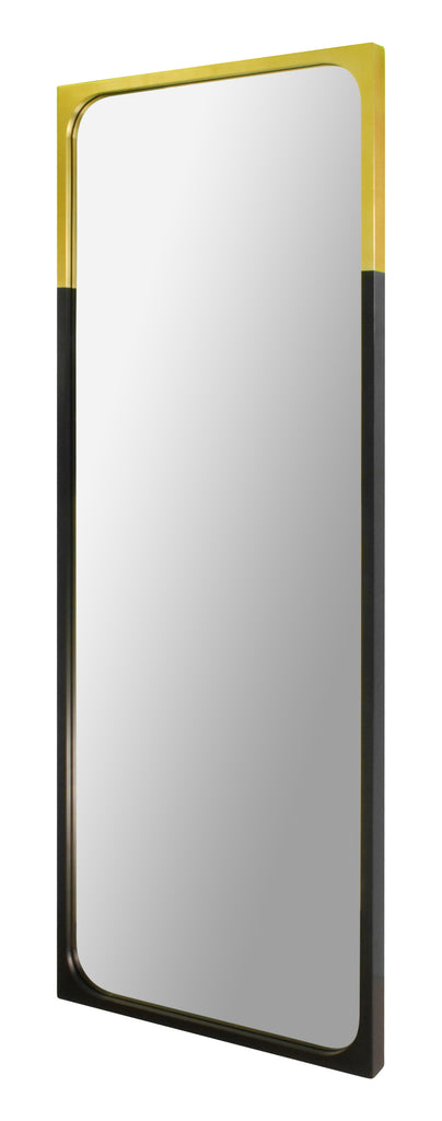 Metal frame full length mirror
